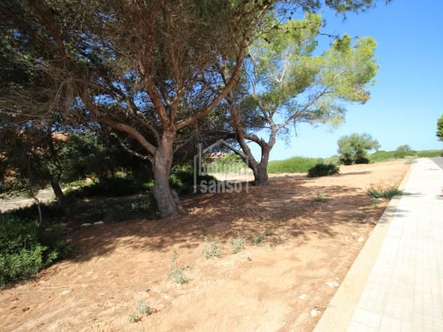 Building plot in unbeatable area of Son Xoriguer Menorca