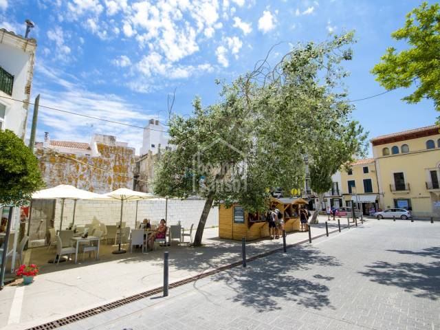 Unique development project in the very heart of Mahon, Menorca