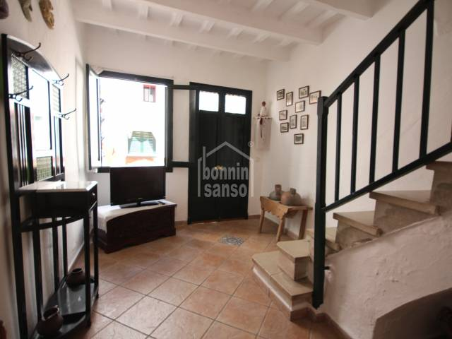 Nice townhouse in the historical centre in Ferreries, Menorca.
