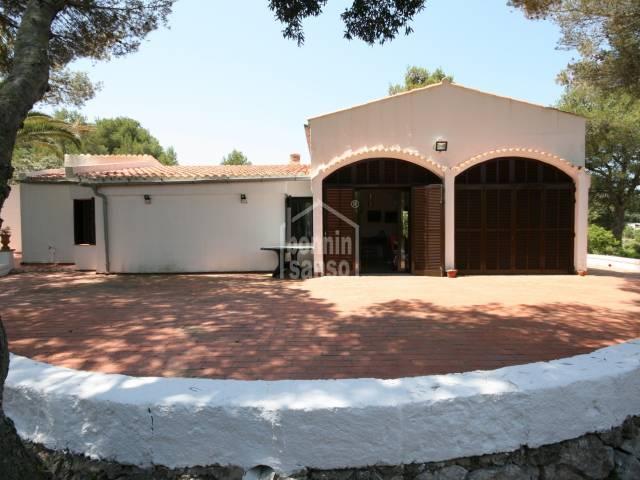 Bonita casa de campo en un entorno encantador en Sa Roca, Menorca