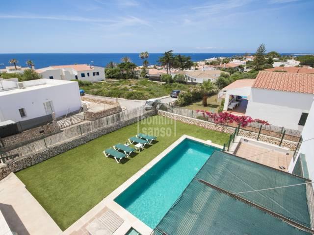 Modern single storey villa in Son Ganxo, Menorca