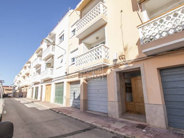 Flat of more than 100m² in the village of Es Castell. Menorca
