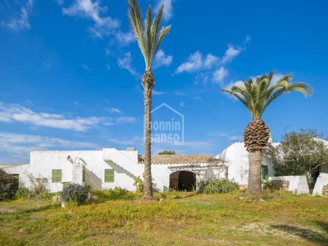 Tipica casa Menorquina en Ciutadella, Menorca
