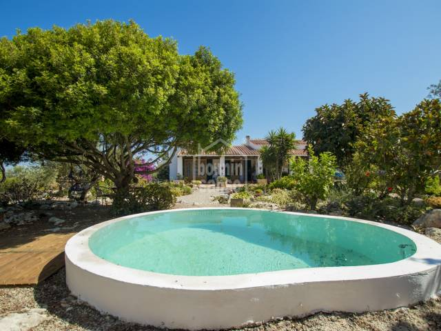 Enchanting Menorquin style country house located near the town of Ferrerias and the beach of Cala Galdana, Menorca