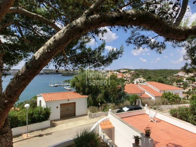 Lovely property with sea views in Cala Llonga in menorca