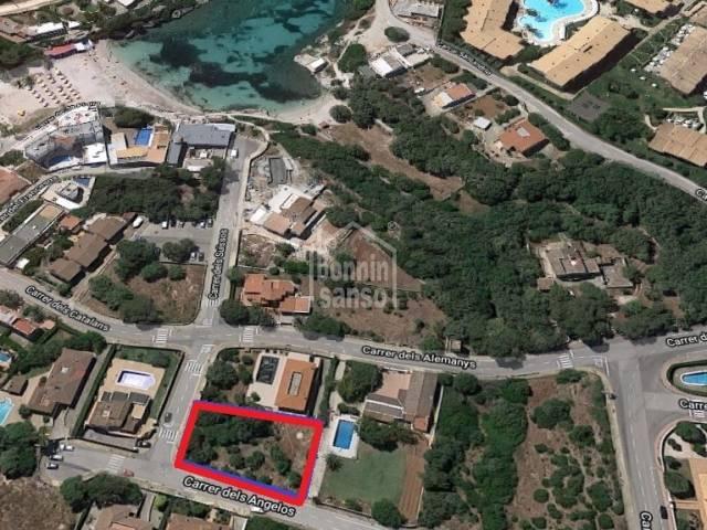 Magnificent building plot in Santandria, Ciutadella, Menorca