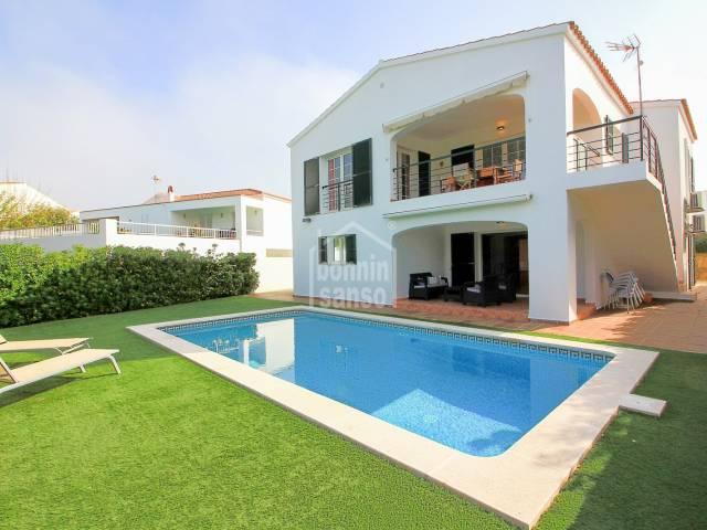 Nice villa located in Cala Llonga, Mahón, Menorca