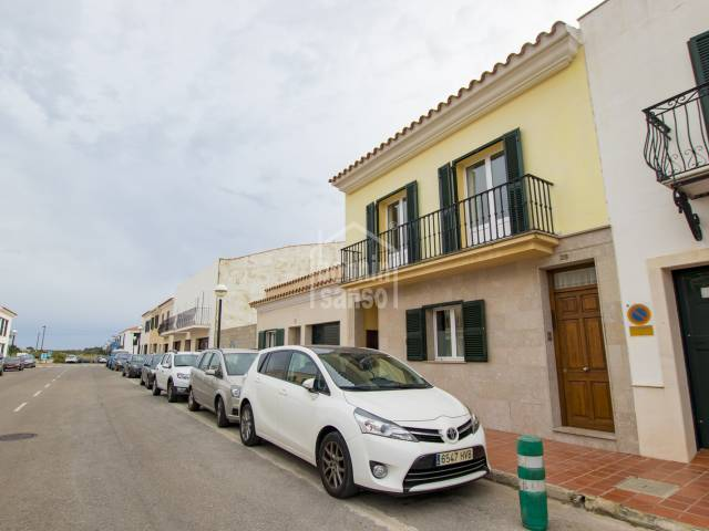 First floor duplex which enjoys plenty of natural light with 3 terraces, Sant lluis, Menorca