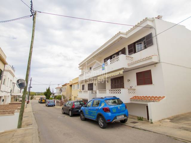 Attractive first floor apartment in Son Vilar, Menorca