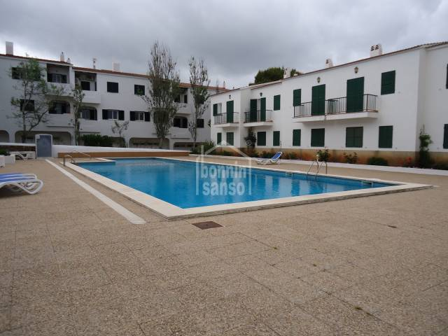 Attractive apartment in Son Parc, Menorca.