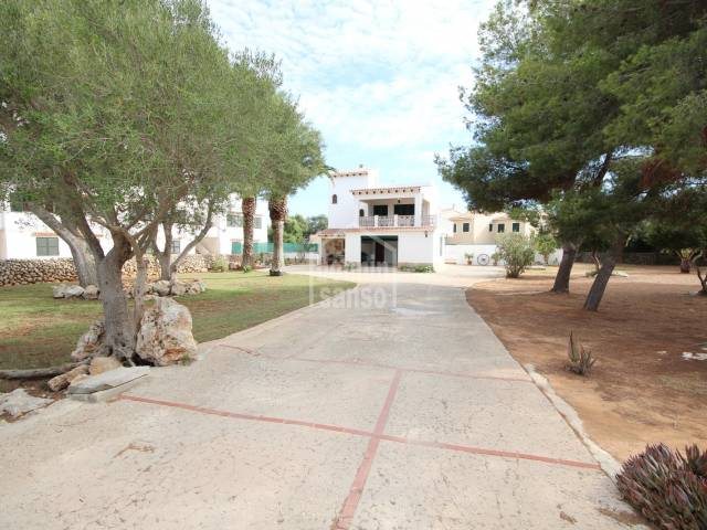 Villa near Santandria beach, Ciutadella, Menorca.
