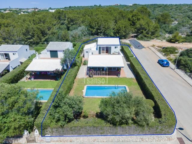Charming villa in Cala Biniancolla, Menorca