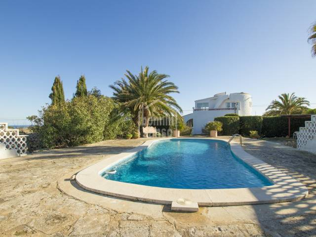 Classic traditional villa with beautiful country and sea views, Noria Riera, Menorca