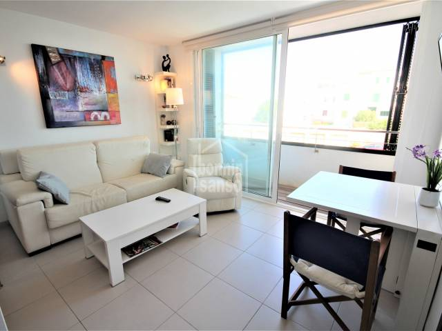 dining living room - Apartment in Playa Grande, Ciutadella, Menorca