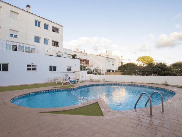 First floor apartment with communal swimming pool in San Luis, Menorca