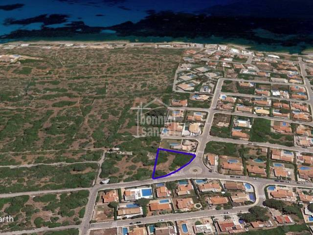 Building plot in Son Ganxo, San Luis