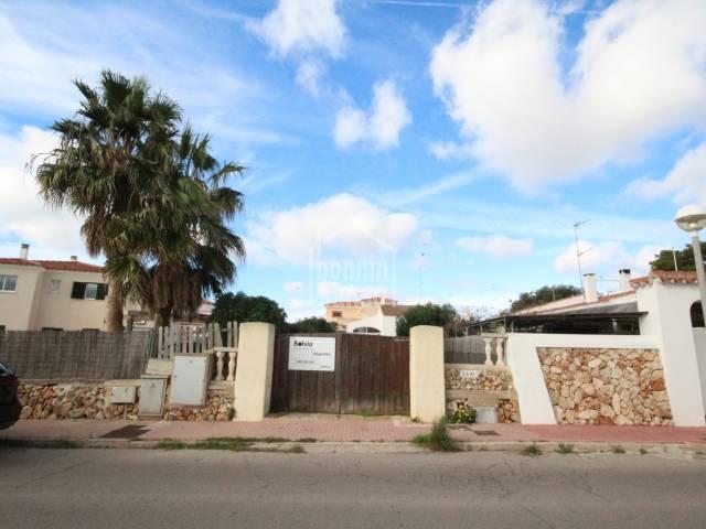 Good opportunity, villa in Calan Blanes, Ciutadella, Menorca