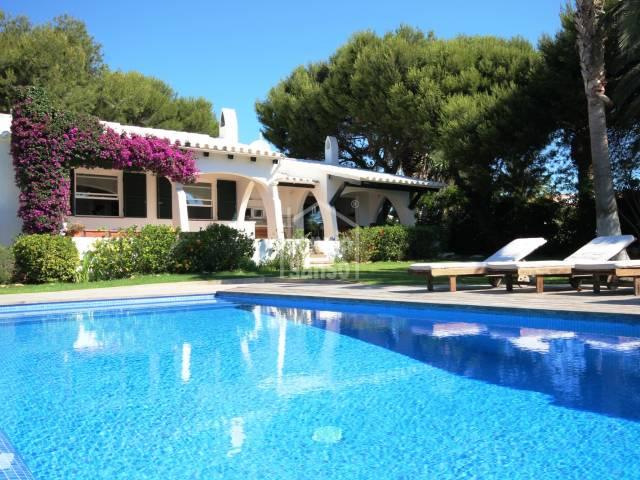 Villa in Cap Den Font, Menorca.