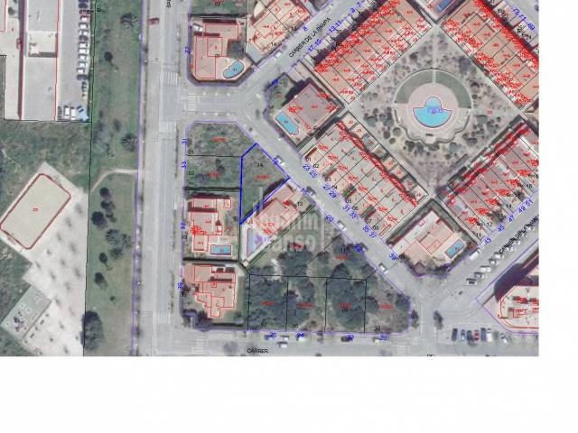 Plot of land of 313m² in the sought after area of Malbuger