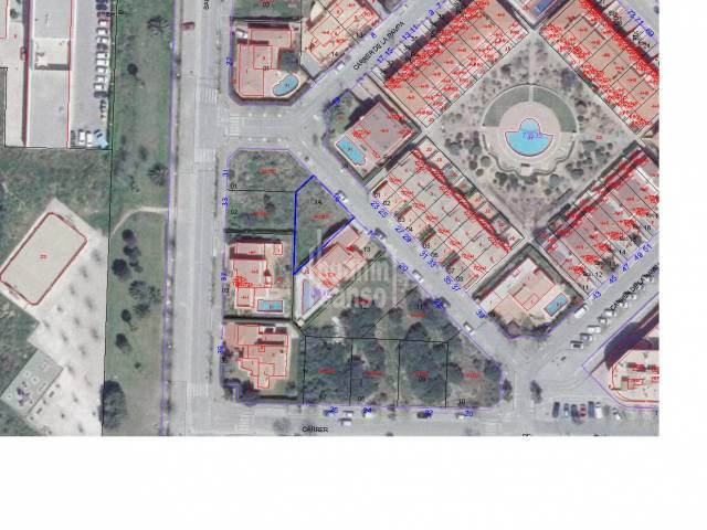 Parcela de 313m² en la solicitada Urbanización de Malbuger