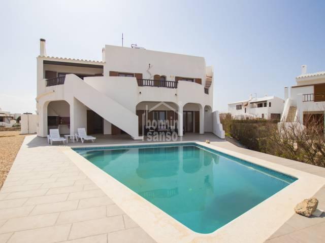 Superb front line villa in Cala Morell , Ciutadella, Menorca