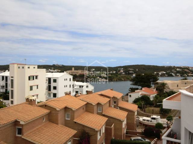 Flat with distant harbour views in Es Castell, Menorca