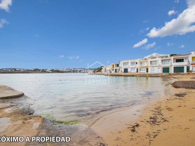 Ground floor apartment in Macaret on the north coast of Menorca.