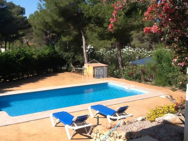 Attractive villa with swimming pool in Son Parc, Menorca