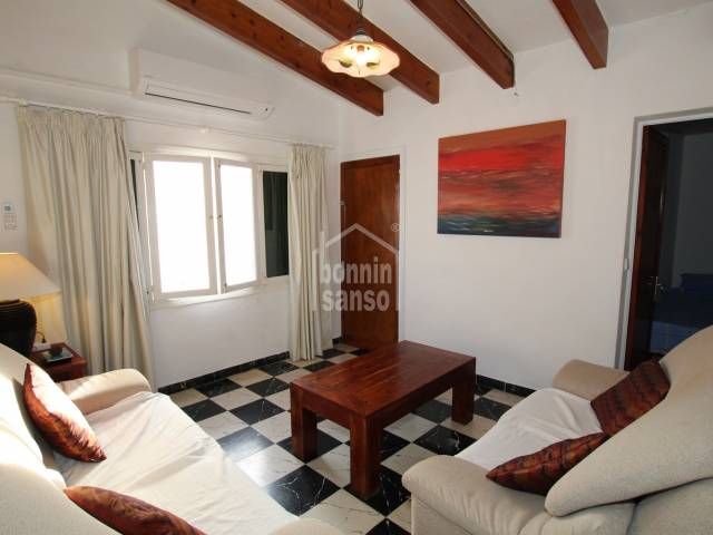 Apartment on first floor with independent access from the street in S'Algar, Menorca