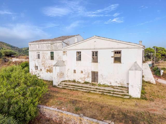 Working farm with manor house Menorca