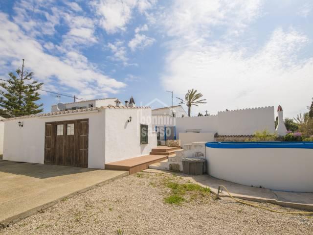 Casa reformada en el Caserío de Torret, Sant Lluís. Zona Sur de Menorca