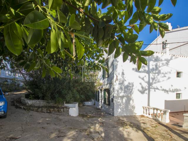 Interesting property in the centre of Mahón, Menorca.