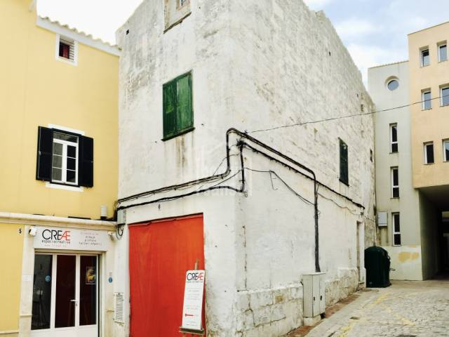 Exciting development project in Mahon's historical old quarter, Menorca
