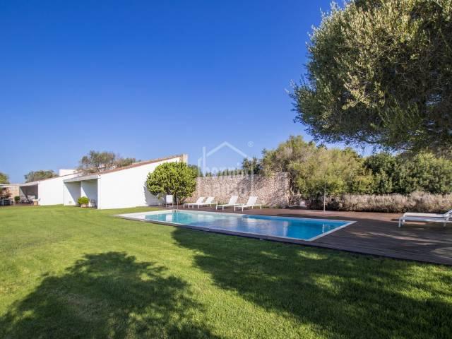 Esplendida casa de campo en Biniparrell, Menorca