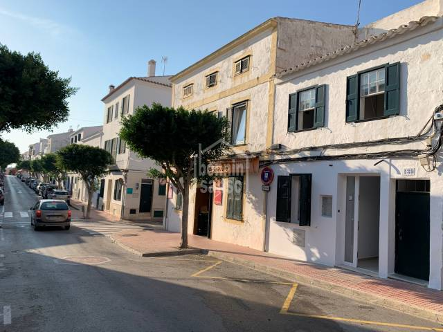 Newly refurbished ground floor flat in centre Es Castell, Menorca