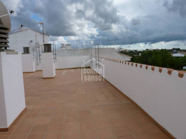 First floor apartment with views in Alaior