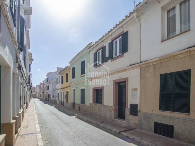 Beautiful ground floor property with patio, Mahon town centre, Menorca