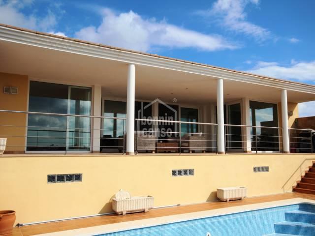 Villa in Cala llonga Port of Mahon Menroca