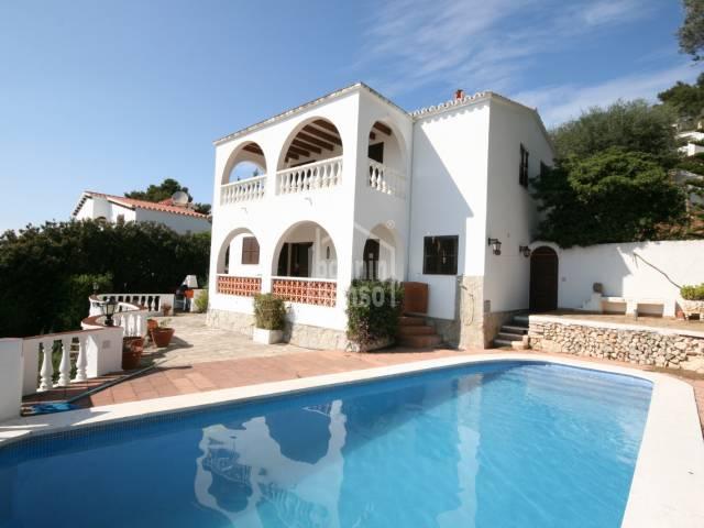 Villa with amazing views in Son Bou, Menorca