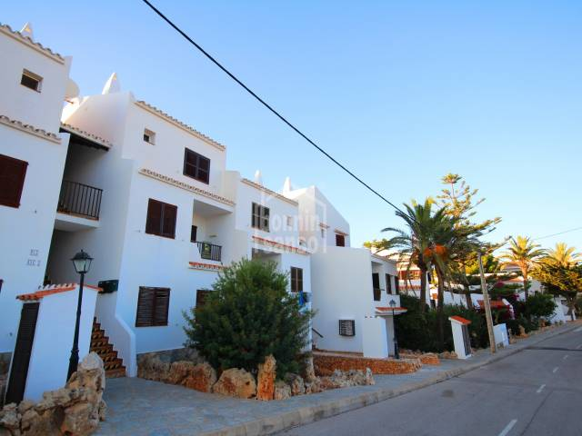 Two bedroomed apartment in Calan Porter, Menorca