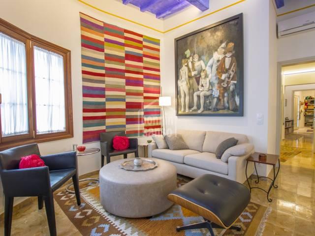 Fabulous flat and basement both renovated in Mahon, Menorca