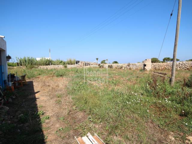 Rustic land of 16.000m² with small apartment in Ciutadella, Menorca