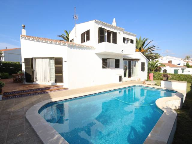 Large villa in Sol del Este with swimming pool -- Es Castell