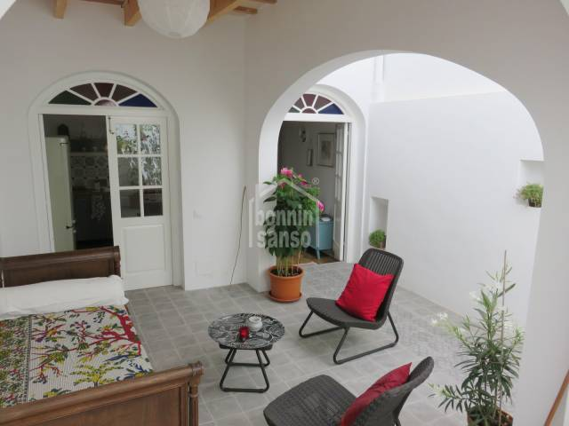 Stunning town house in historic quarter of Mahon, Menorca