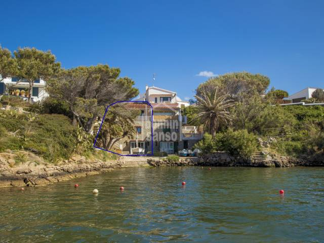 OPPORTUNITY:  Front line property in Adday, Menorca.