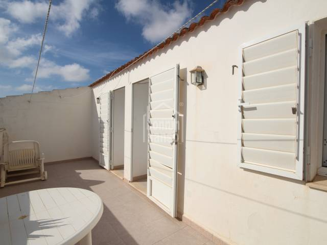 Second floor duplex in Ciutadella, Menorca