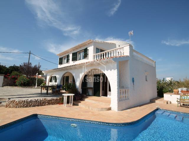 Very well conserved villa in Son Vilar in Es Castell Menorca