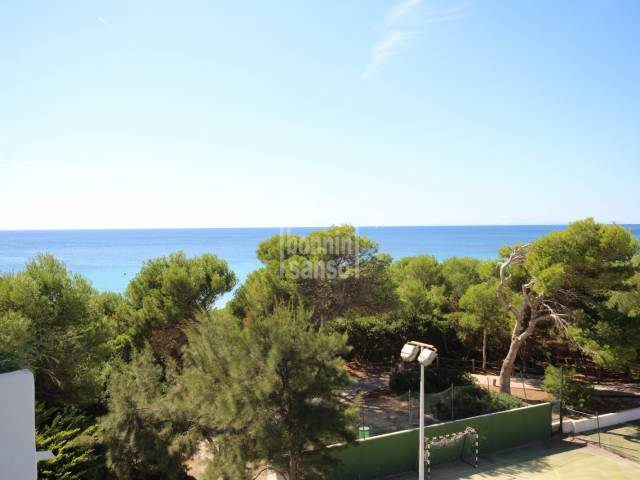 Apartment with excellent sea views in Santo Tomas, Menorca