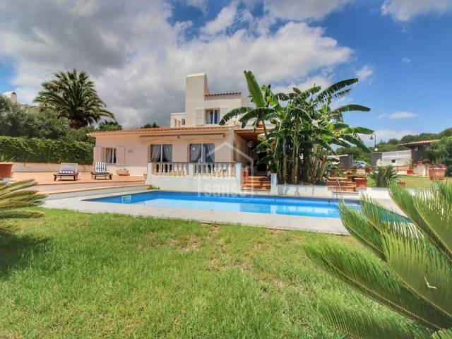 Four bedroom villa in Binibeca Vell, Menorca