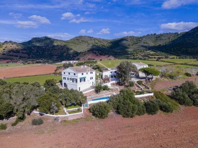 Rural estate located in an area of great natural beauty and ethnological value in Ferrerias, Menorca